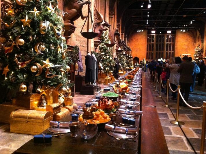 เป็น Christmas feast บนโต๊ะอาหาร