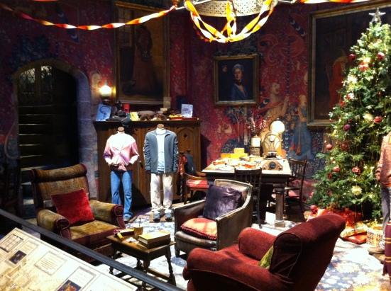 ห้อง common room ของกริฟฟินดอร์