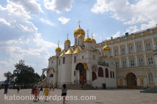 Cathedral ภายใน The Kremlin